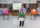 โรงเรียนบ้านไผ่ศึกษาส่งเสริมประชาธิปไตย ร่วมใจเลือกตั้งประธานกรรมการสภานักเรียน